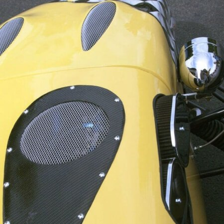 bright yellow Kit Car