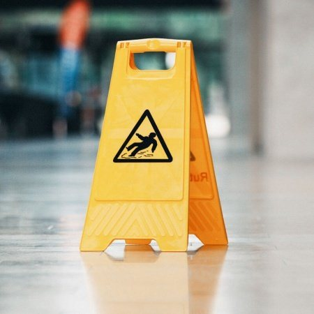 Slippery surface floor Sign