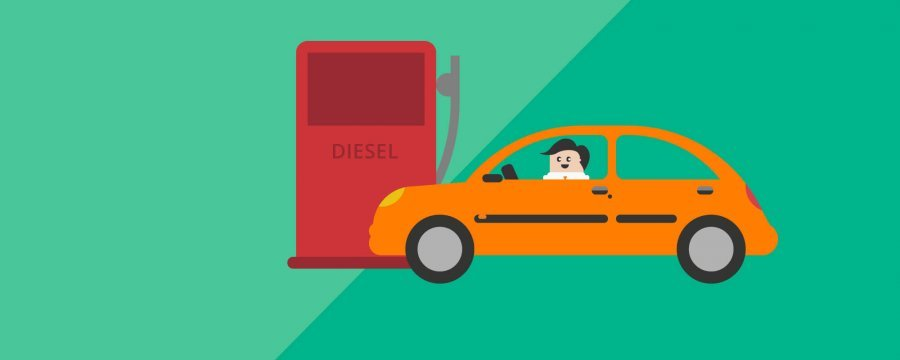 Diesel cars decline in march