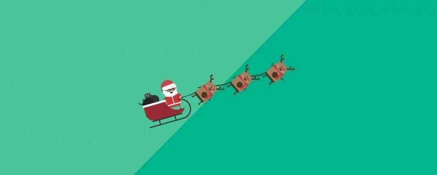 Santas Slay Vector