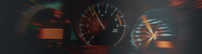 Speedometer On A Car