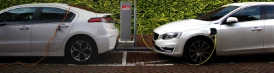 Banner Electric Car Charging
