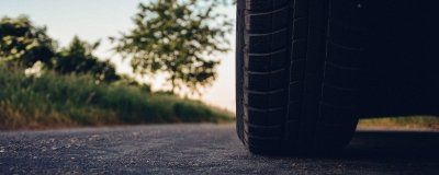 Tyre On Road