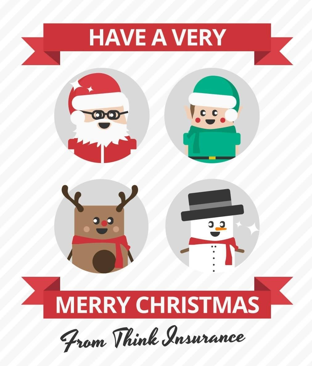 Merry Christmas Card Design